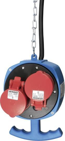 CEE závěsný rozbočovač ES5 AS Schwabe, 60975, kabel ⇒ 2x CEE a 3x zásuvka, 400 V, IP44