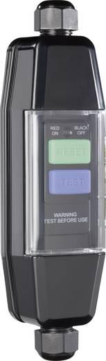 Zwischenschalter Kunststoff mit PRCD 230 V Schwarz IP55