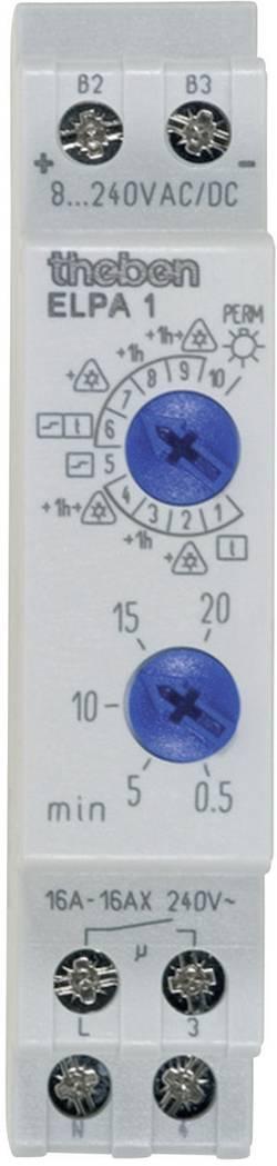 Schodišťový spínač Theben Elpa1, analogový, 16 A, 230 V, 0,5 - 20 min, 10002