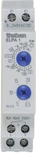 Treppenlichtzeitschalter Hutschiene 8 V DC/AC, 12 V DC/AC, 24 V DC/AC, 110 V DC/AC, 230 V DC/AC Theben 0010002