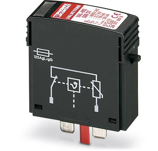 Phoenix Contact VAL-MS 500 ST 2807609 Überspannungsschutz-Ableiter steckbar 10er Set Überspannungsschutz für: Verteilers