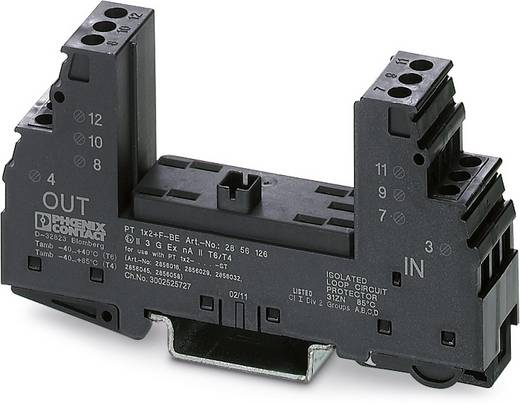 Überspannungsschutz-Sockel 10er Set Überspannungsschutz für: Verteilerschrank Phoenix Contact PT 1X2+F-BE 2856126