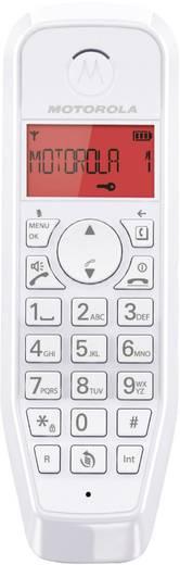 Schnurloses Telefon analog Motorola STARTAC S1201 Rot, Weiß