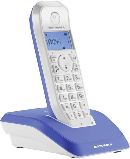 Schnurloses Telefon analog Motorola STARTAC S1201 Blau, Weiß