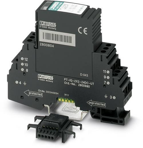 Phoenix Contact PT-IQ-4X1+F-24DC-UT 2800983 Überspannungsschutz-Ableiter Überspannungsschutz für: Verteilerschrank 10 k
