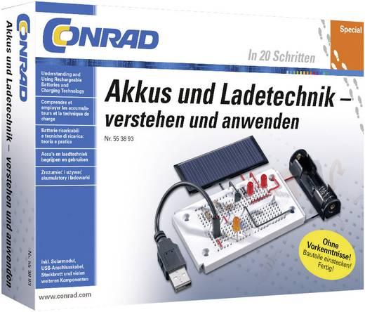 Lernpaket Conrad Components Akkus und Ladetechniken 10127 ab 14 Jahre