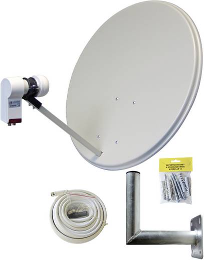 AllVision SAH-160 Twin-Set SAT-Anlage ohne Receiver 2 60 cm