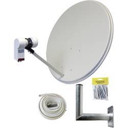Image of AllVision SAH-160 Twin-Set SAT-Anlage ohne Receiver Teilnehmer-Anzahl: 2 60 cm