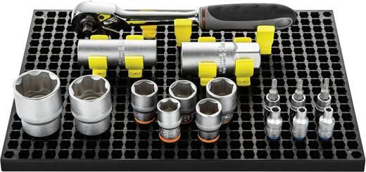 TOOLCRAFT 553943 Lochplatten-Set 2-tlg. + 80-tlg. Zubehör (L x B) 194 mm x 278 mm