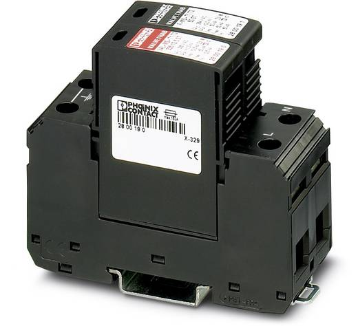 Überspannungsschutz-Ableiter Überspannungsschutz für: Verteilerschrank Phoenix Contact VAL-MS-T1/T2 335/12.5/1+1 280018