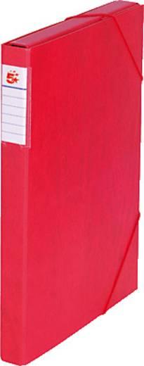 5 Star™ Dokumentenbox Karton, rot, 30mm