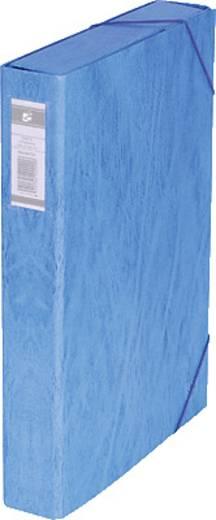 5 Star™ Dokumentenbox Karton, blau, 50mm