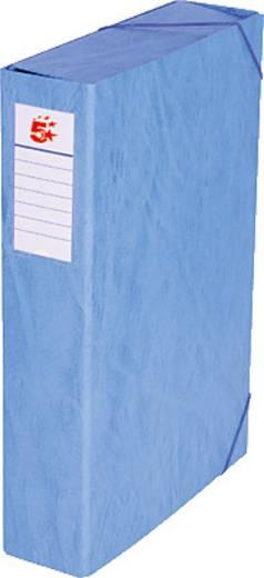 5 Star™ Dokumentenbox Karton, blau, 70mm