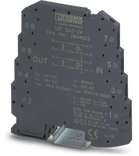 Überspannungsschutz-Ableiter 10er Set Überspannungsschutz für: Verteilerschrank Phoenix Contact LIT 2X2-24 2804623 5 kA
