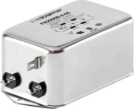 Entstörfilter 250 V/AC 3 A 14 mH (L x B x H) 85 x 54 x 30.3 mm Schaffner FN2090-3-06 1 St.