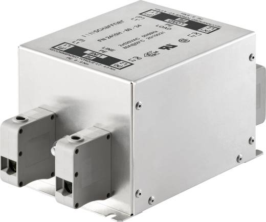 Entstörfilter 300 V/AC, 520 V/AC 25 A (L x B x H) 130 x 93 x 76 mm Schaffner FN2410H-25-33 1 St.