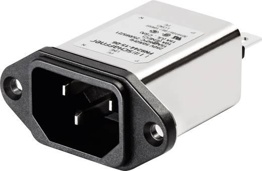 Netzfilter mit Kaltgerätebuchse 250 V/AC 6 A (L x B) 48 mm x 22.5 mm Schaffner FN9244-6-06 1 St.