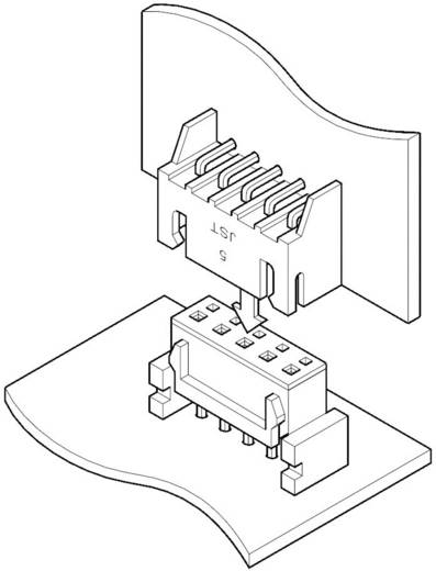 Buchsengehäuse-Platine JQ Polzahl Gesamt 4 JST 04JQ-ST Rastermaß: 2.50 mm 1 St.