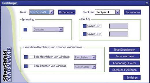IP-Steckdosenleiste 6fach Schwarz Schutzkontakt Gembird EG-PM2-LAN
