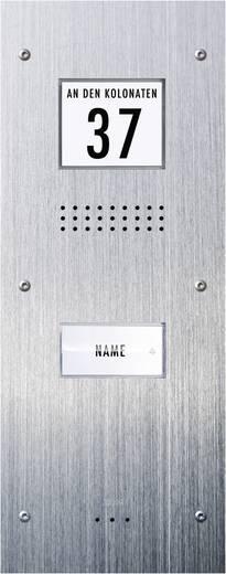 m-e modern-electronics ADV-310 Türsprechanlage Kabelgebunden Außeneinheit 1 Familienhaus Edelstahl