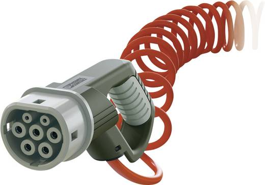 eMobility Ladekabel Phoenix Contact 1405194 [ Typ 2 - offenes Ende] 4 m Spiralkabel