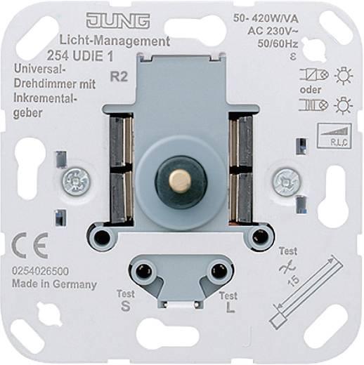 Jung Einsatz Dimmer LS 990, AS 500, CD 500, LS design, LS plus, FD design, A 500, A plus, A creation, CD plus, SL 500 254UDIE1