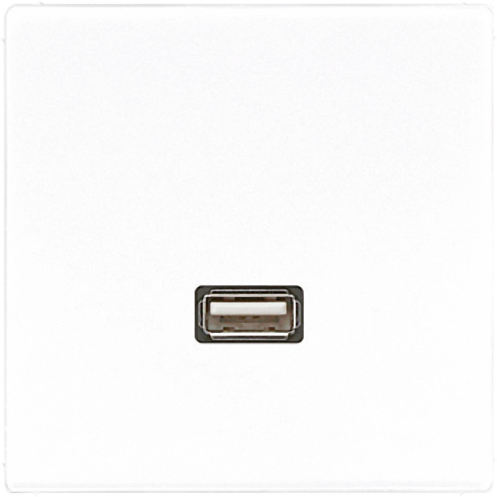 Jung Einsatz USB-Steckdose LS 990, LS design, LS plus Alpinweiß MALS1122WW