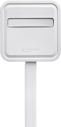 Schutzkontakt-Flachstecker Kunststoff, Thermoplast 230 V Weiß IP20 Sygonix 33127X