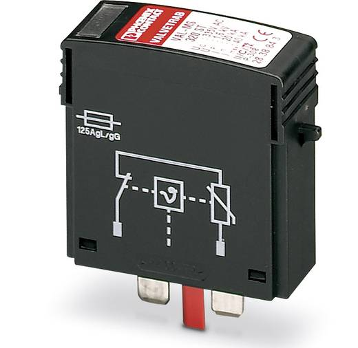 Überspannungsschutz-Ableiter steckbar 10er Set Überspannungsschutz für: Verteilerschrank Phoenix Contact VAL-MS 320 ST 2