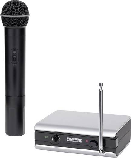 Funkmikrofon-Set Samson VHF2H Übertragungsart:Funk