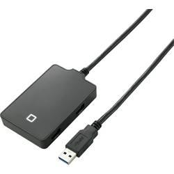 USB 3.0 hub Renkforce 4 porty, 56 mm, čierna