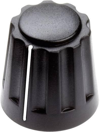 Drehknopf mit Zeiger Schwarz (Ø x H) 14.5 mm x 14 mm Mentor 4331.4001 1 St.