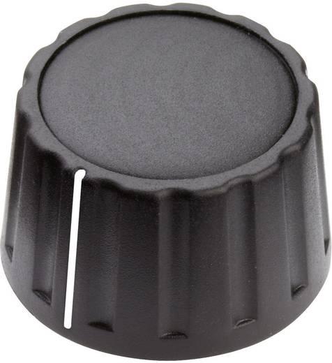 Drehknopf mit Zeiger Schwarz (Ø x H) 28 mm x 17 mm Mentor 4333.6001 1 St.