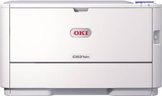 OKI C531dn Farblaserdrucker A4 30 S./min 26 S./min 1200 x 600 dpi Duplex, LAN