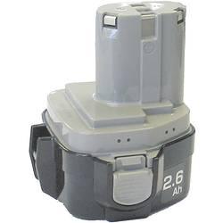 Náhradný akumulátor pre elektrické náradie, Makita 1234 NiMH 193100-4, 12 V, 2.5 Ah, NiMH