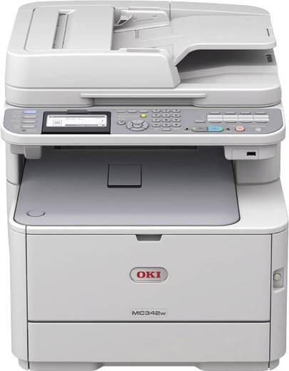 OKI MC342dn Farblaser-Multifunktionsdrucker A4 Drucker, Scanner, Kopierer, Fax LAN, Duplex, ADF