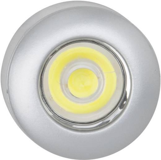 LED-Aufbauleuchte 3er Set 3 W Weiß Brilliant G94620/21 Myke Silber