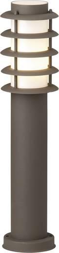 Außenstandleuchte Halogen E27 20 W Brilliant Malo 46884/55 Rost-Braun