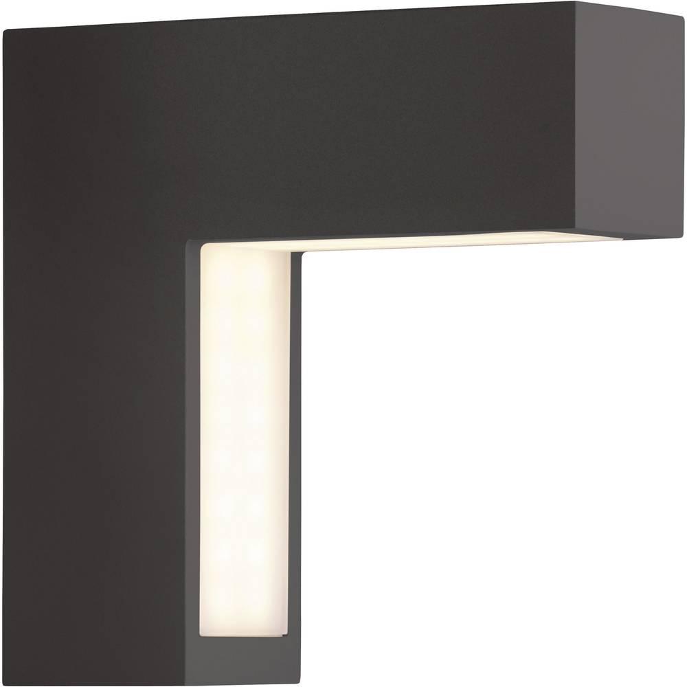 Brilliant lampade da parete per esterni g41681 06 nero led for Lampade a led vendita online