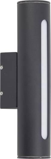 LED-Außenwandleuchte 3.3 W Warm-Weiß Brilliant Twin G45280/06 Schwarz