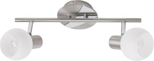 Deckenstrahler Halogen E14 80 W Brilliant Tiara 15613/13 Eisen, Weiß