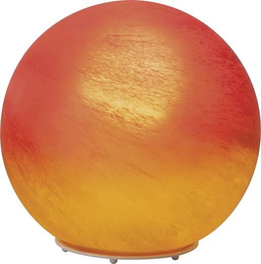 Tischlampe Halogen E27 60 W Brilliant Timo 51847/24 Rot-Orange
