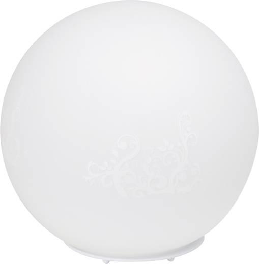 Tischlampe Halogen E27 60 W Brilliant Timo 51847/75 Weiß