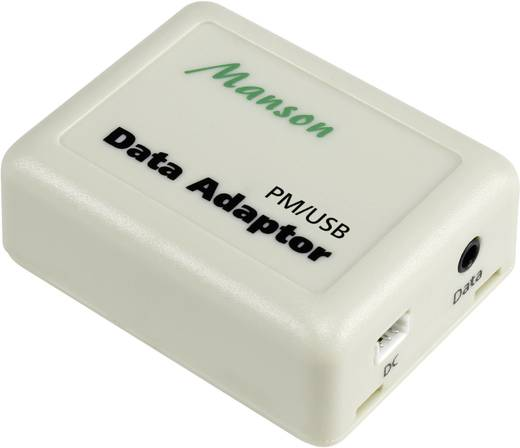 PM-USB USB-Schnittstellenadapter PM-USB, Passend für (Details) DC-Leistungsmessgerät PM-60V/20A