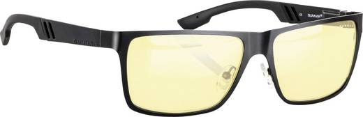 GUNNAR Brille VINYL Onyx Gläser Amber Computer-Brille Gamer-Brille