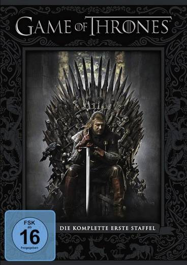 DVD Game of Thrones - Die komplette 1. Staffel (5 DVD´s) FSK: 16