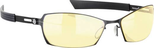 Gamer-Brille Gunnar Optiks SteelSeries Scope Onyx, Bernstein
