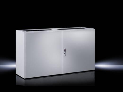 Pult-Gehäuse Unterteil 1600 x 675 x 400 Stahlblech Licht-Grau (RAL 7035) Rittal TP 6703.500 1 St.