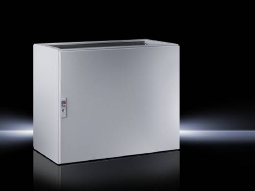 Pult-Gehäuse Unterteil 600 x 675 x 500 Stahlblech Licht-Grau (RAL 7035) Rittal TP 6704.500 1 St.