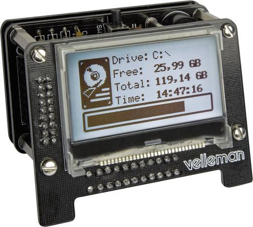 USB Anzeigetafel Velleman K8101 Ausführung (Bausatz/Baustein): Bausatz 5 V
